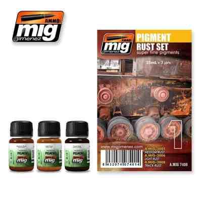 Rust Pigment Set