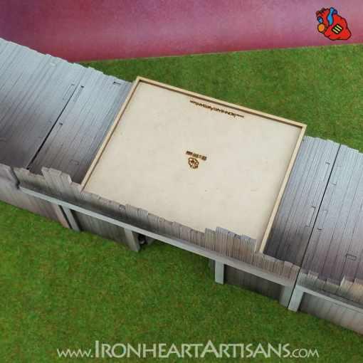 Modular Fort Gate for Kings of War