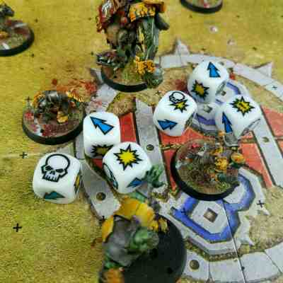 Blood Bowl 2 Block Dice