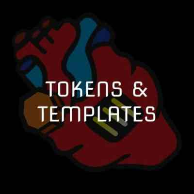 Blood Bowl Tokens & Templates