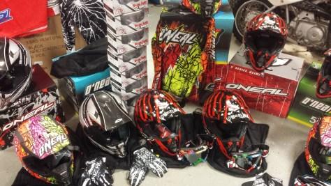 Motocross gear helmet