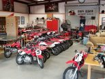 Our fleet of Honda CRF Dirt bikes