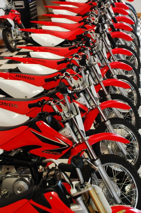 Honda Dirt Bikes Iron Horse Country Ranch