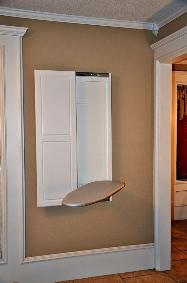 Best Wall Mounted Ironing Boards: Fold Down/Built-In Cabinets 2018