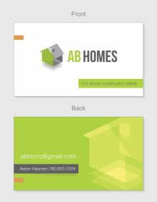 AB Homes Business Card