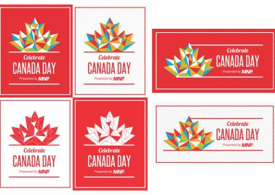 Visual Identity: COL Canada Day