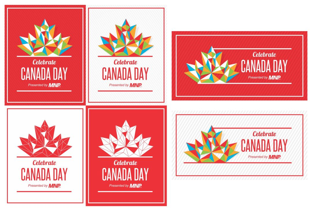 Canaday Day Lloydminster Logo Variations