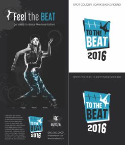 To the Beat Early Logo Concept 1a