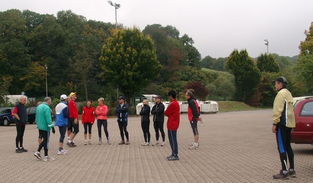 Schaumbergtestlauf am 03.10.2008