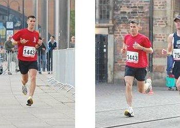 Werderolli beim Marathon in HB