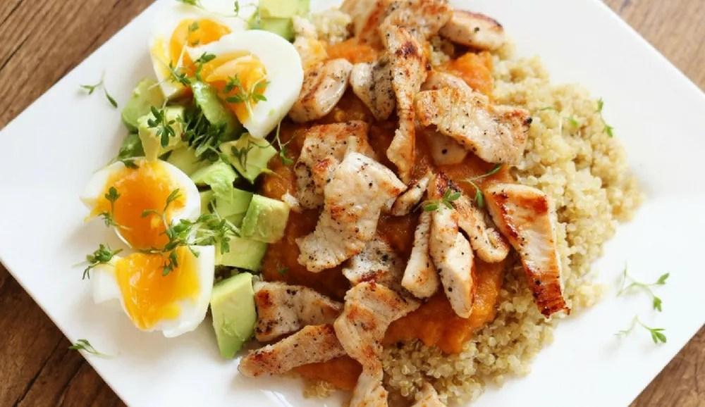 Iron Paradise Fitness Quinoa Recipes Meal Prep Sunday Blog Pics Breakfast Turkey Quinoa Salad