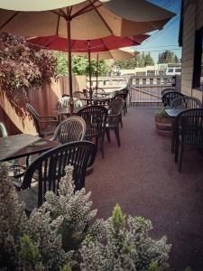 Iron Rabbit patio
