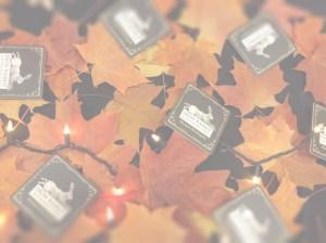 Iron Rabbit fall leaves