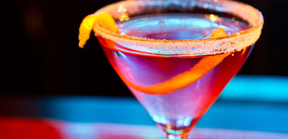 Gin Blossom: a complex and refreshing gin martini