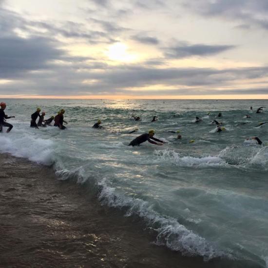 Swim entry