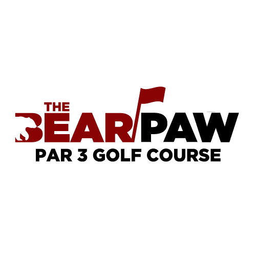 Logo Design - Bear Paw Par 3 Golf Course