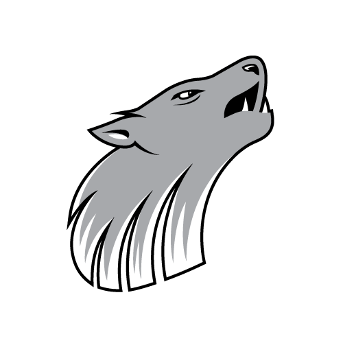 Logo Design - GPRC Wolves