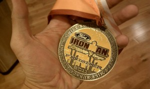 ironman arizona results 2011 finish medal