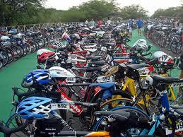 Triathlon bike training