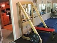 homemade squat rack