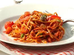Athlete nutrition  -pasta dish