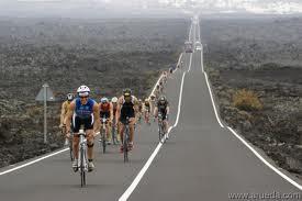 bike course of Ironman Lanzarote