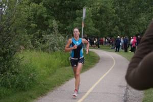 Ironstruck sponsors Pro triathlete Olesya Prystayko