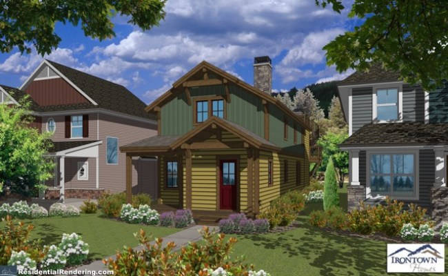 Building Custom Modular Home For Historic Old Town Park