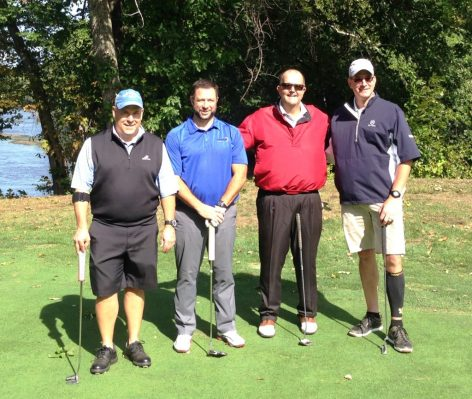 Tim Ulles of Numet, Brian Montanari of HABCO, Roger Roche of Ironwood and Matt McSpeddon of Chase Bank