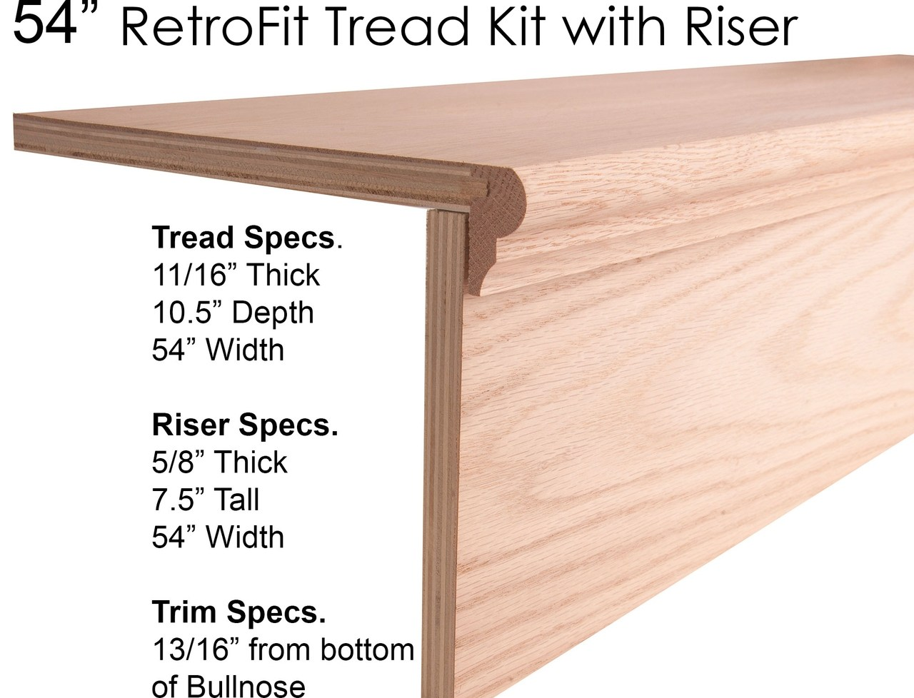 Wood Stair Treads Starting Steps Retrofit Treads   Wood Stair Treads And Risers