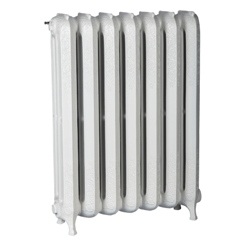 Ironworks Radiators Inc. decorative, roll top cast iron radiator