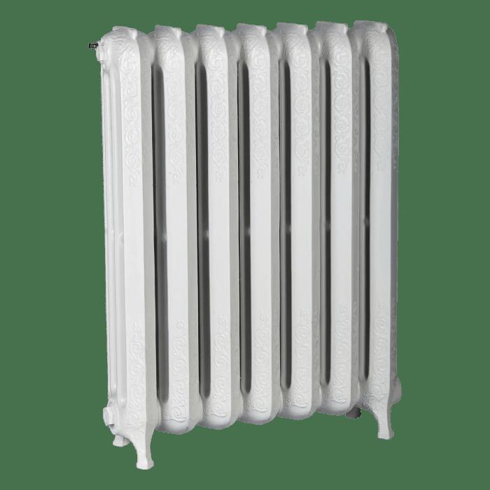 Ironworks Radiators Inc. decorative, roll top cast iron radiator