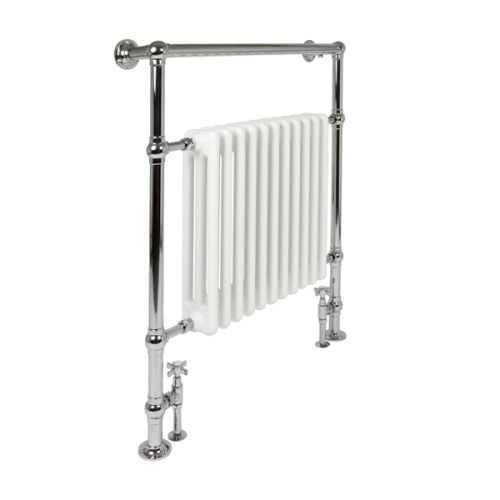 Ironworks Radiators Inc. Castrads bathroom towel warmer radiator Vivien