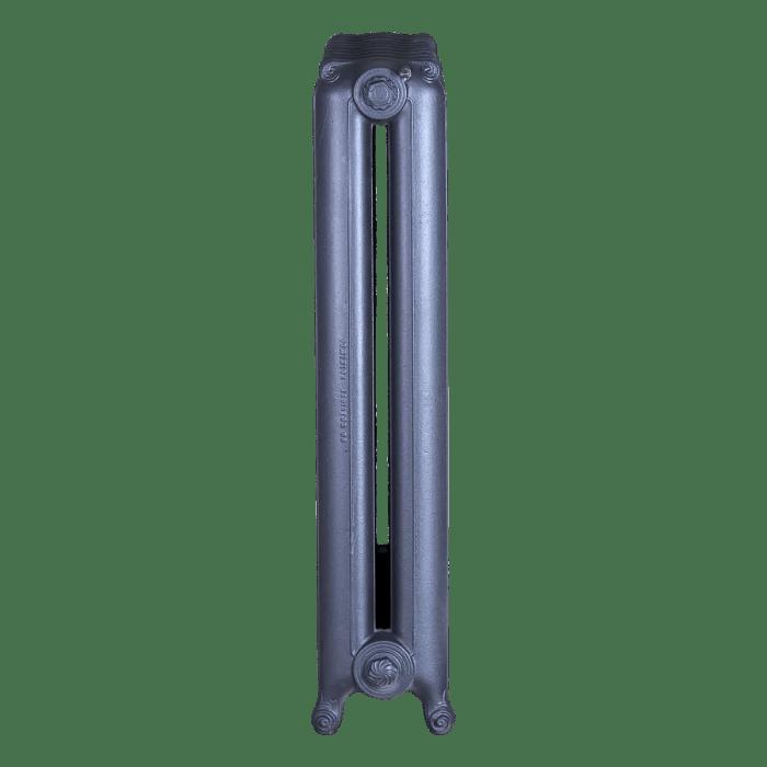Ironworks Radiators Inc. refurbished cast iron radiator Forestview in Steel Grey