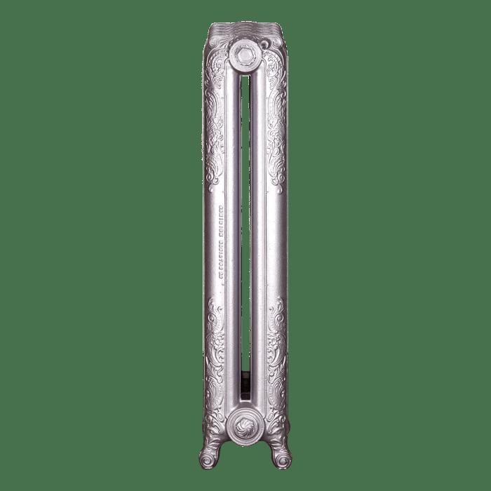 Ironworks Radiators Inc. refurbished cast iron radiator Essex in Rose metallic