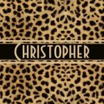 Leopard Spots Pattern Personalize Gifts