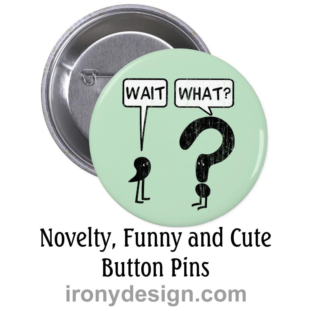 Novelty Buttons