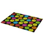 Happy Colorful Smiley Faces Pattern Personalize Gifts