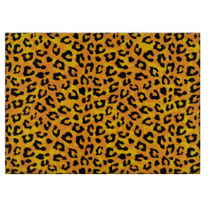 Leopard Paw Print Orange Yellow Personalize Gifts