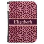 Pink Leopard Spots Pattern