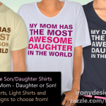 Most Awesome Son/Daughter Shirts