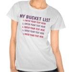 10 Bucket List Shirts