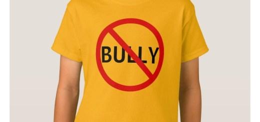 No Bully Message Sign Tshirt and Shirts