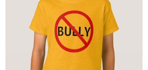 No Bully Message Sign Tshirt and Shirts