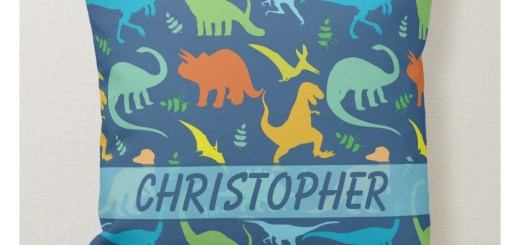 Colorful Dinosaur Pattern Products
