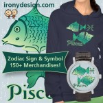 Zodiac Pisces Sign Merchandise