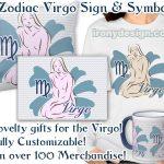 Zodiac Sign Virgo Symbol Gifts