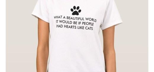 Hearts Like Cats Shirts
