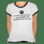 I'm Not Antisocial T Shirt