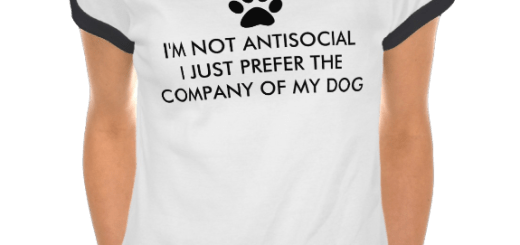 I'm Not Antisocial T Shirt for Cat and Dog Owner Humor